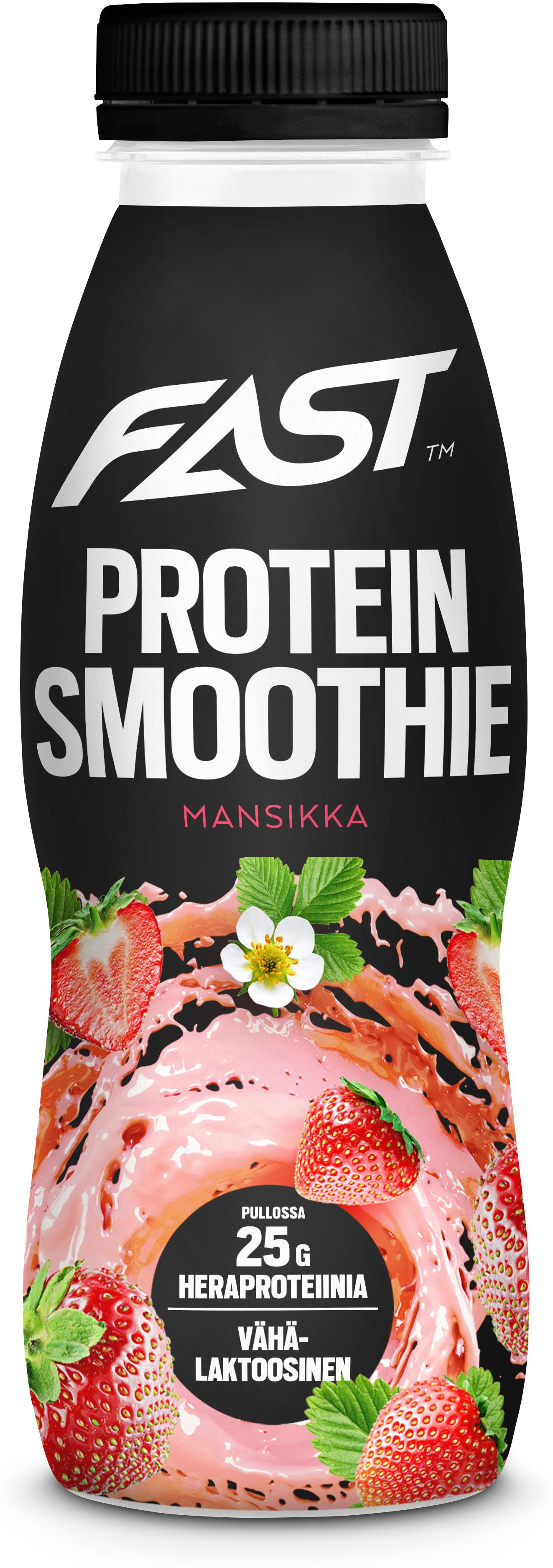 Drink FAST Natural Protein Smoothie strawberry 330 ml