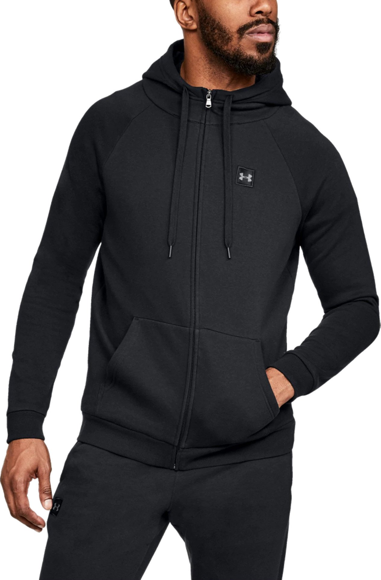Hooded sweatshirt Under Armour RIVAL FLEECE FZ HOODIE