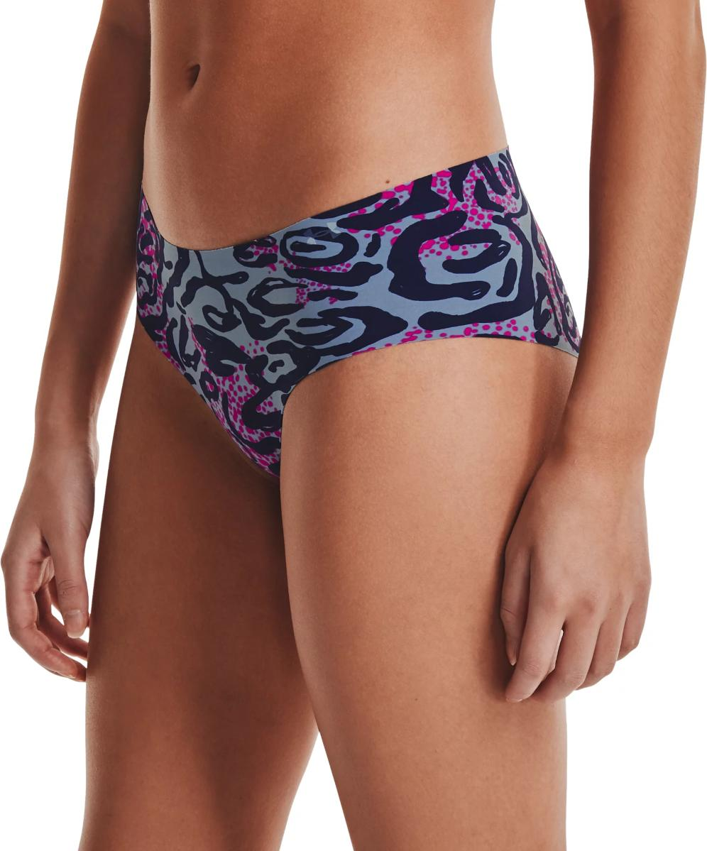 Underpants Under Armour PS Hipster 3Pack Print-BLU