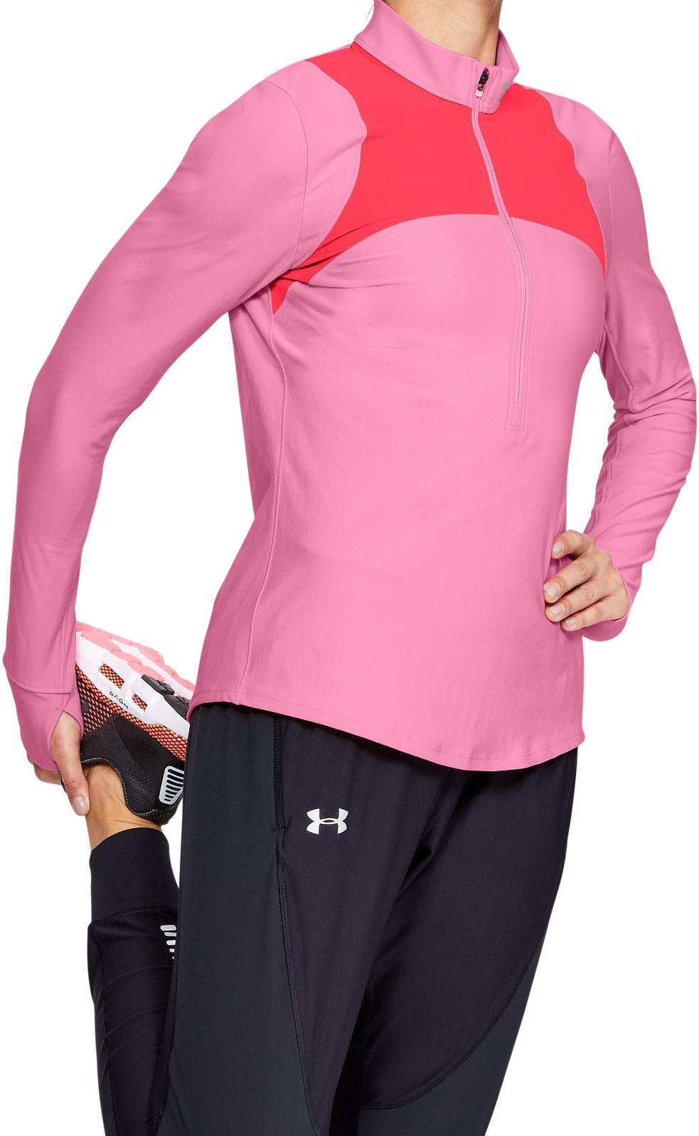 Long-sleeve T-shirt Under Armour UA Qualifier Half Zip