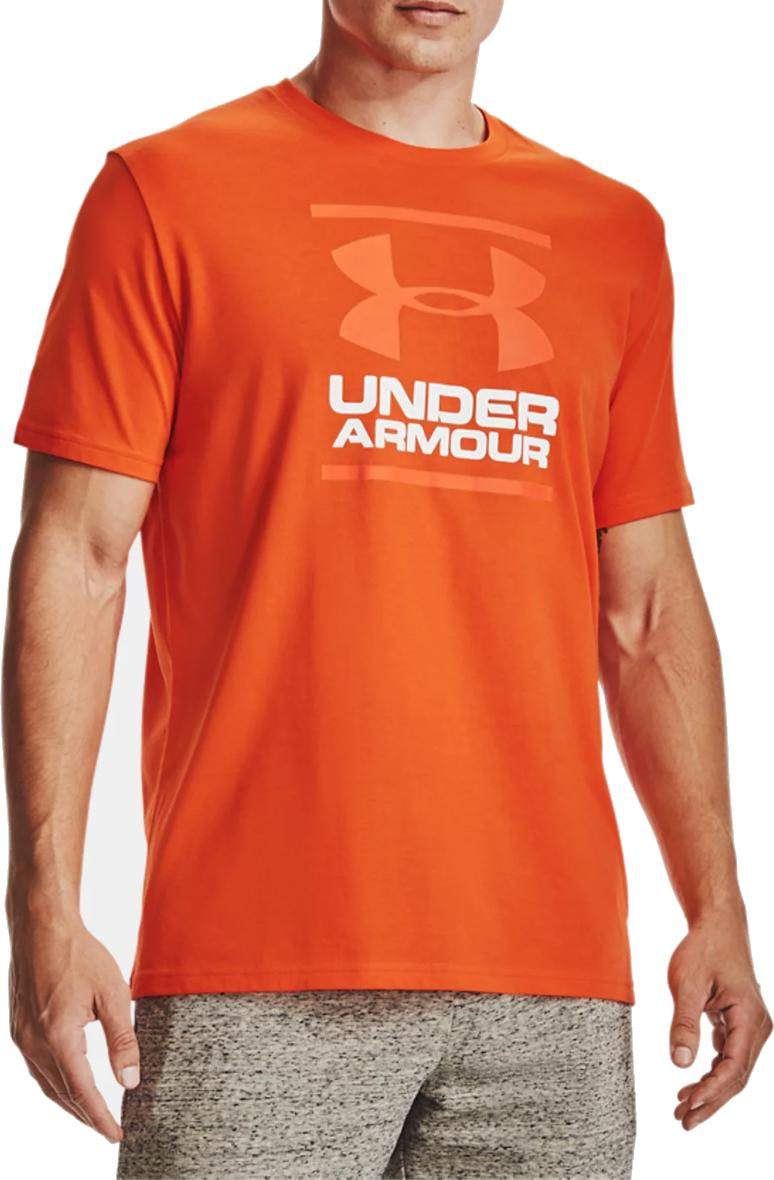 T-shirt Under Armour UA GL Foundation SS T-RED
