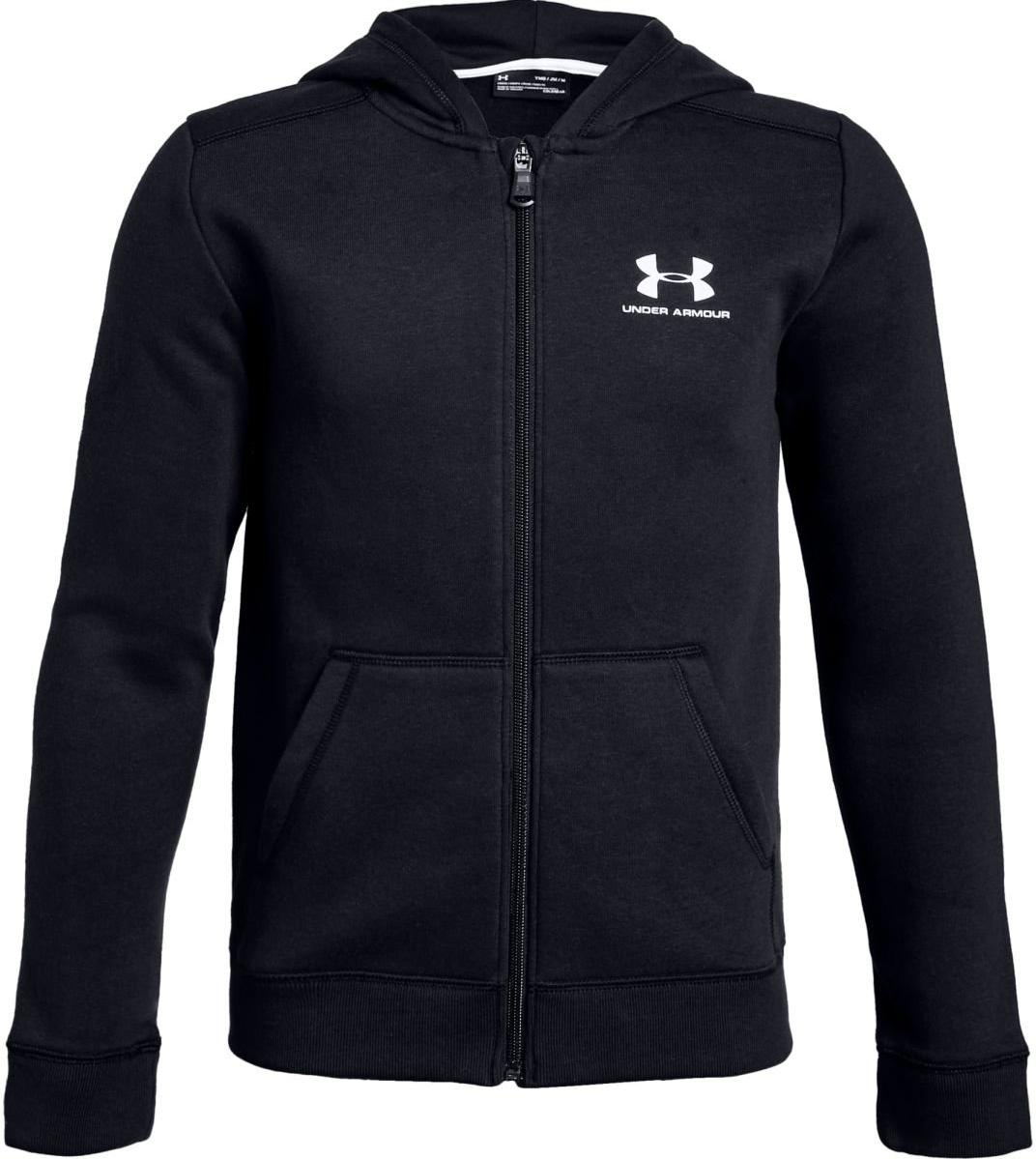 Hooded sweatshirt Under Armour UA Cotton Fleece Full Zip