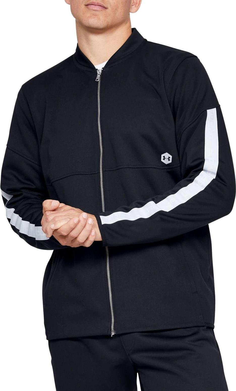 Jacket Under Armour Athlete Recovery Knit Warm Up Top