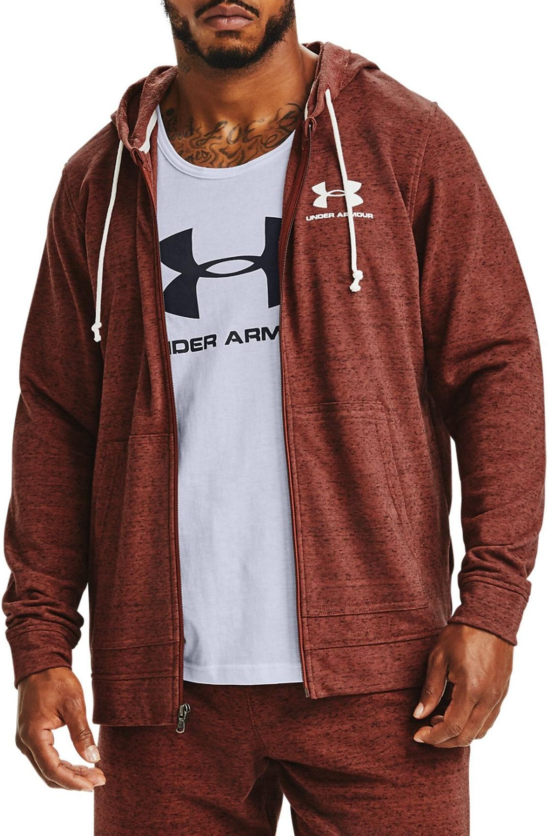 Hooded sweatshirt Under Armour SPORTSTYLE TERRY FZ