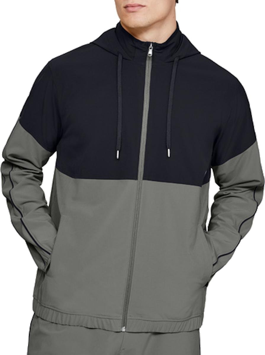 Hooded sweatshirt Under Armour Athlete Recovery Woven Warm Up Top