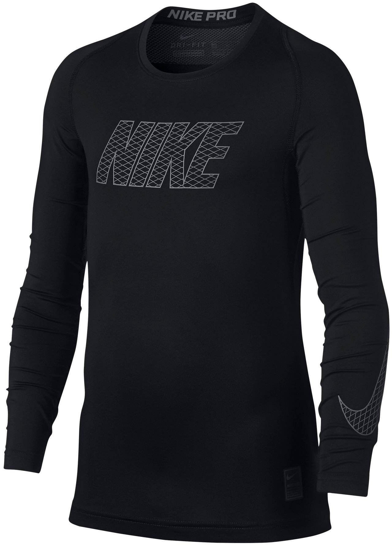 Long-sleeve T-shirt Nike B NP TOP LS COMP