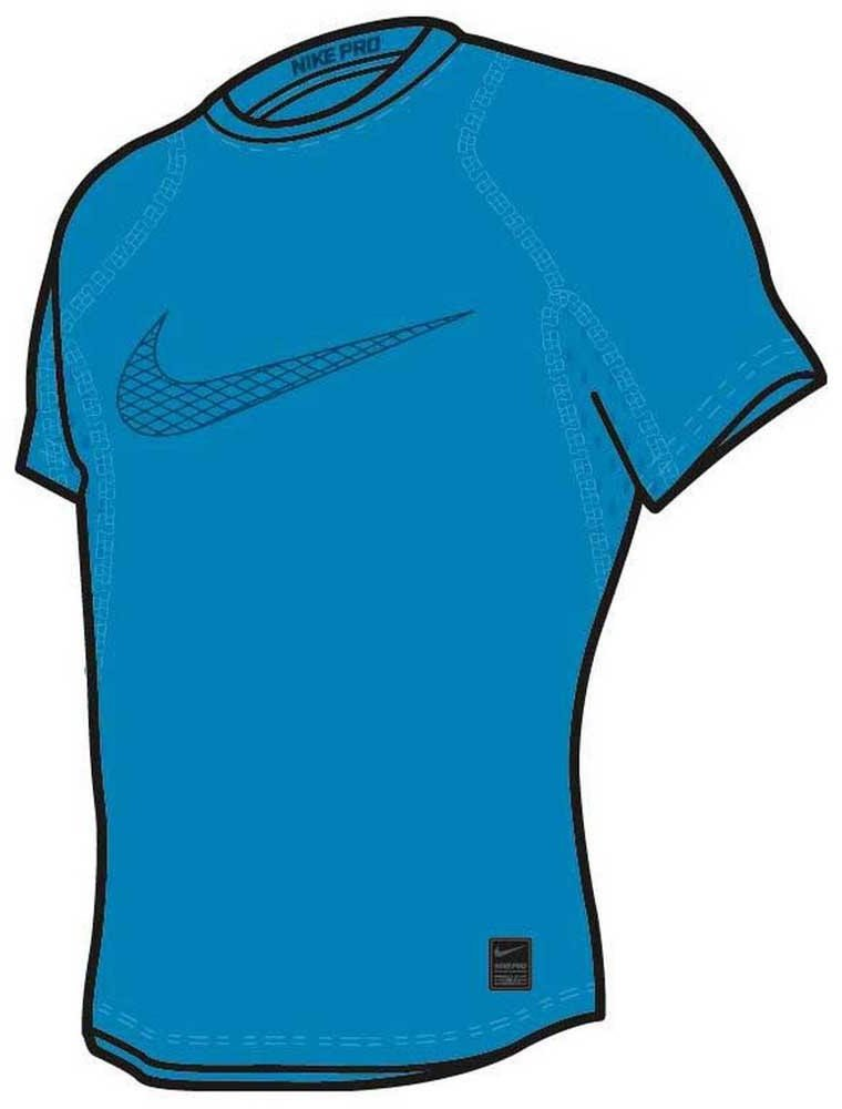 Compression T-shirt Nike B NP TOP SS COMP