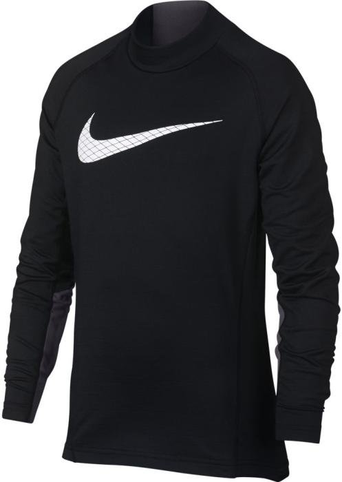 Long-sleeve T-shirt Nike B NP LS THERMA MOCK GFX